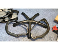 Q- пластик (комплект=крестовина+подлокотники под мягкие накладки)
