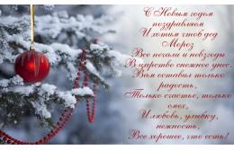 Поздравляем покупателей и коллег с наступающим Новым годом!